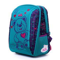 c09144b16bc Delune 3D Embossed Girls Boys backpack 3-5 Class Owl Bear School Bag  Children Burden