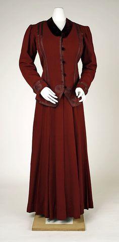Suit  Date: 1904–7   Culture: American   Medium: wool, silk