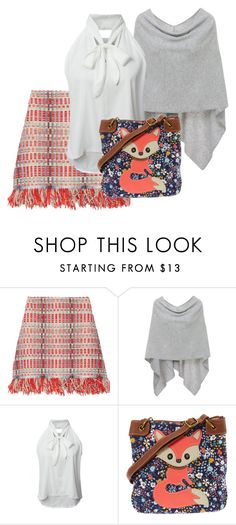 """""""Untitled #815"""" by jolka-krawiec ❤ liked on Polyvore featuring Tory Burch, Minnie Rose and WithChic"""