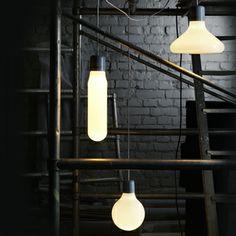 Design House Stockholm hanglamp Form Pendants mix set van 3 door Form Us With Love