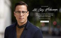 Mr Cary Fukunaga | The Interview | The Journal|MR PORTER