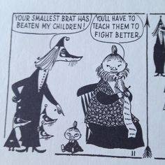 Tove Jansson was so ready to fuckin throw down with anyone Illustrations, Illustration Art, Moomin Valley, Tove Jansson, Cartoon Shows, Little My, Hilarious, Funny, Childhood
