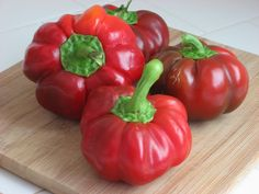 Sweet Pepper PIMENTO,Heirloom seeds, Excellent, Pickling, Frying & Roasting