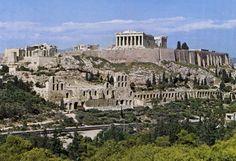 Acropoli di Atene, Atene, Grecia.