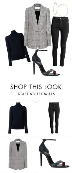 """""""Work Idea"""" by cameronsiggens on Polyvore featuring STELLA McCARTNEY, self-portrait, Yves Saint Laurent and GUESS"""