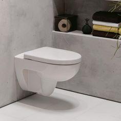 Keramag Renova Nr. 1 Tiefspül-WC, 4,5/6 l, wandhängend L: 54 B: 35,5 cm weiß