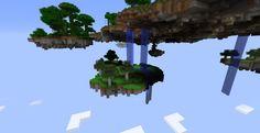 minecraft flying islands   My First Flying island