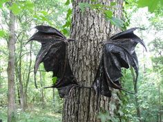 OOAK Custom Iridescent Draco Dragon Fairy Wings Cosplay Renaissance U Pick Any Color. $150.00, via Etsy.