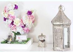 DIY ramadan 2017 - décoration - fêtes - lune fleuries