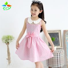 $13.99 (Buy here: https://alitems.com/g/1e8d114494ebda23ff8b16525dc3e8/?i=5&ulp=https%3A%2F%2Fwww.aliexpress.com%2Fitem%2FChildren-dress-2015-summer-new-children-s-clothing-dress-bow-pastoral-cute-little-princess-dress-waist%2F32378351979.html ) 2015 Summer Baby Girls Polka Dot Dresses With Bow Doll Collar Kids Cotton Casual Dress Children's Clothing Vestido De Daminha for just $13.99