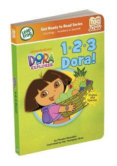 LeapFrog Tag Junior Book: 1-2-3 Dora