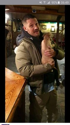 When Reece-Marie sends me a photo of Tom hardy in the pub she works in I am genually crying so jealous right now