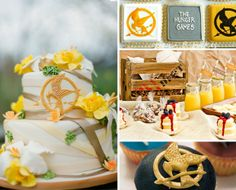 Hunger Games wedding cakes