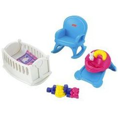 Doll House: FisherPrice My First Dollhouse Baby Room *** Click on the image for additional details.