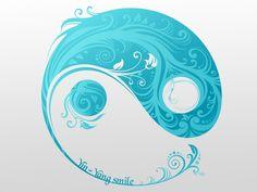 Fonds d'écran Art - Numérique > Fonds d'écran Abstrait Yin Yang Smile par ndj4 - Hebus.com