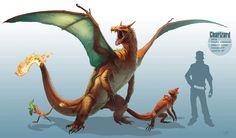 dibujos hiperrealistas de 'Pokémon'
