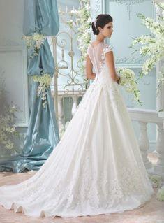 elegant David Tutera for Mon Cheri wedding dresses