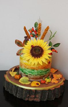 Autumn colours - Cake by dima