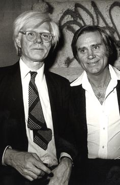 Andy Warhol and George Jones