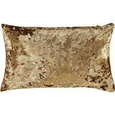 """""""Style Furnishings"""" Gold Velvet Rectangle Cushion x - TK Maxx Summer Sky, Tk Maxx, Breeze, Cushion, September, Velvet, Gold, House, Style"""