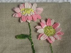 Chiffon and Porcelain: Three dimensional embroidery