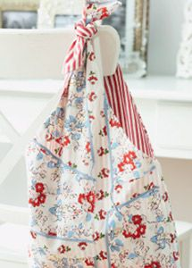 Sew a recycled-fabric bag - just one of our many green craft ideas