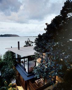 James-Robertson Residence  architects:  Dawson Brown Architecture  location:  Great Mackerel Beach, Australia