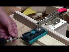 ⚙ DIY  Pocket hole drilling station - YouTube