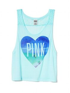 PINK Lace Muscle Tank #VictoriasSecret http://www.victoriassecret.com/pink/tees-and-tanks/lace-muscle-tank-pink?ProductID=115222=OLS?cm_mmc=pinterest-_-product-_-x-_-x