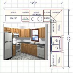 How To Lay Out A Kitchen Design 12 X 14 Kitchen Design With Island Layout Only Addition