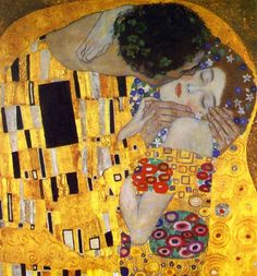 The Kiss Detail by Gustav Klimt - Oil Painting from OilPaintings.com