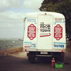 Via @BE - Hop on board, The Food Truck.