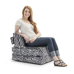 Big Joe Flip Lounger Zebra -- You can find out more details at the link of the image.Note:It is affiliate link to Amazon.
