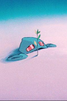 Nausicaa of the Valley of the Wind - além da belíssima ( e super estranha ) natureza do vale do vento e do mar do declínio ainda temos a fabulosa protagonista . Com seu coração generoso e sua coragem inspira a todos . E não somente isso . Transforma a terra morta em vida . Melhoria de vida para todo o seu querido povo . Sempre inspirando . Eta ! Studio Ghibli maravilhoso ! by V!cious