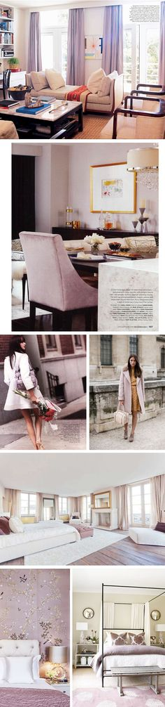 Chic Combinations: Lavender + Cream //  by Arianna Belle for La Dolce Vita Blog
