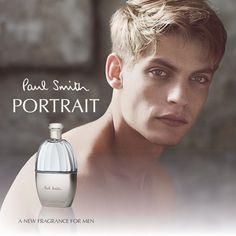 Baptiste Radufe Fronts Paul Smith Portrait for Men Fragrance Campaign