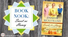 Get to know Jennifer Beckstrand and her new #amishfiction 'Sweet as Honey'