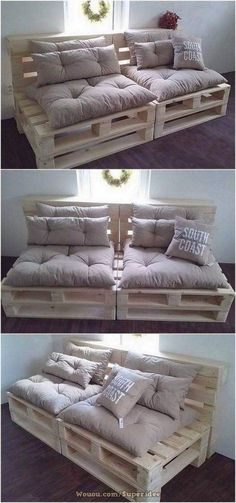 If you are looking for Diy Projects Pallet Sofa Design Ideas, You come to the right place. Here are the Diy Projects Pallet Sofa Design Ideas. Diy Pallet Sofa, Wooden Pallet Projects, Diy Pallet Furniture, Wooden Pallets, Diy Projects, Outdoor Pallet, Furniture Ideas, Garden Pallet, Wood Furniture