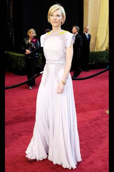 Cate Blanchett in Givenchy Haute Couture | Academy Awards 2011 | 100 Best Red Carpet Dresses of All Time - Most Iconic Red Carpet Looks - Harper's BAZAAR