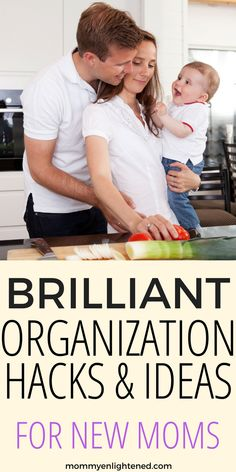 Awesome Home Organization Hacks for New Moms-Mommy Enlightened Pregnancy Health, Pregnancy Tips, Organized Mom, After Baby, Mom Advice, Pregnant Mom, Baby Hacks, Baby Tips, Mom Hacks