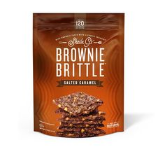 MY NEW OBSESSION!! SOOOOO GOOD! Brownie Brittle, LLC - Rich brownie taste with a crisp cookie crunch. Try 4 flavors - chocolate, toffee, mint chocolate chip and salted caramel by Sheila G for BrownieBrittle.com.