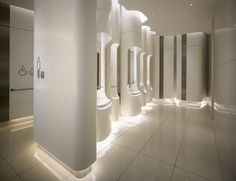 Bathroom interior design, toilet plan, wc design, toilet design, laundry in Hotel Lobby Design, Modern Hotel Lobby, Washroom Design, Bathroom Interior Design, Wc Public, Toilette Design, Pacific Place, Public Bathrooms, Bathroom Toilets
