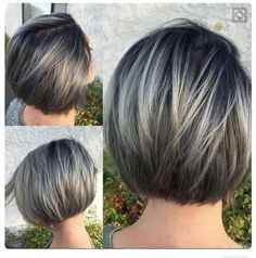 METALLIC SILVER: 2 rounds of balyage using #KenraColor 7SM + Blue booster+ 20V.