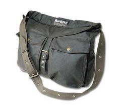 Barbour Waxed Cotton Retriever Bag