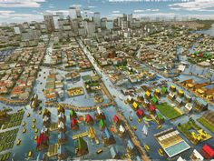 Urban Planning Ideas for 2030, When Billions Will Live in Megacities [The Future of Humanity: http://futuristicshop.com/category/the-philosophy-of-the-future-predictions-futurism-future-trends/ Future Architecture: http://futuristicnews.com/category/future-architecture/]