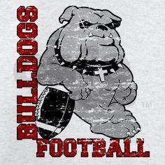 bulldog football tshirt designs   Bulldogs Gifts > Bulldogs T-shirts >…