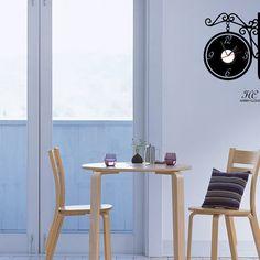 飾り時計(ornament clock)#clock #harrysticker #interior #wallsticker #homedecor #room #harryart #sticker #ウォールステッカー# ハリーステッカー #時計