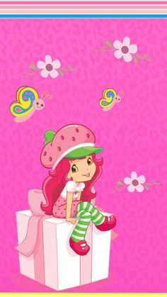 Felicidades!! Strawberry Shortcake Pictures, Strawberry Shortcake Doll, Cute Little Girls, My Little Pony, Pretty Backgrounds, Hello Kitty Wallpaper, Pink Love, Craft Party, Cute Dolls