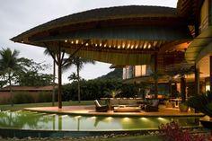 Leaf house, Angra dos Reis, one hour drive from Rio de Janeiro, Brazilië.