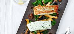 Nutaaq® Cod with kale, mushrooms and ginger recipe by Royal Greenland Cod Recipes, Meal Recipes, Ginger Sauce, Creamed Eggs, Best Chef, Tray Bakes, Kale, A Food, Food Processor Recipes